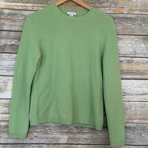 Investments 100% Cashmere Green Sweater